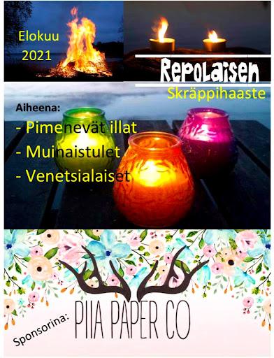 Repolaisen Skräppihaaste/elokuu