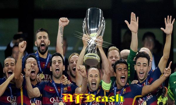 Barcelona Menangkan Penghargaan Klub Terbaik 2015 -  Afbcash.com