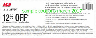 free Ace Hardware coupons march 2017