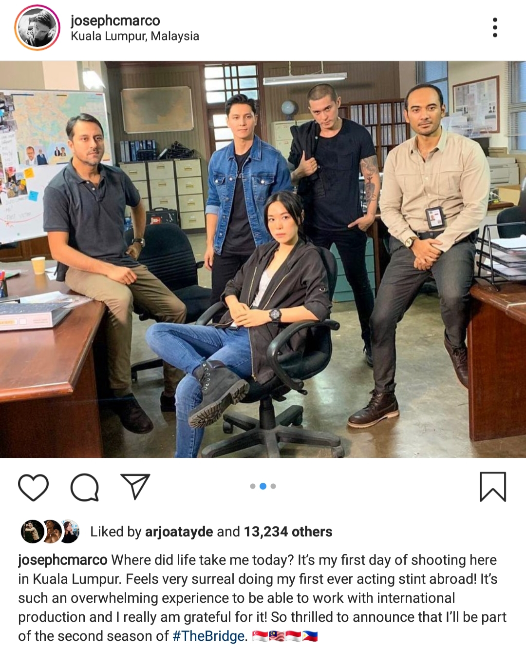 Fashion Pulis Insta Scoop Joseph Marco Joins Second