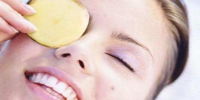 cara cepat menghilangkan kantung mata dalam 3 hari dengan kentang