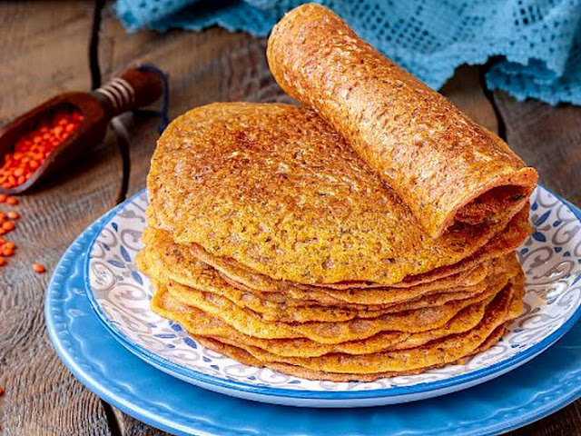 Lentil Pancakes Without Flour - Gluten Free Recipe    Recipes With Moong Dal Pancake