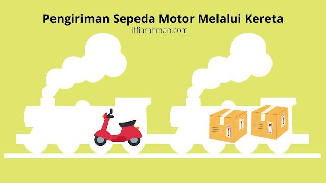 Kirim motor dengan kereta