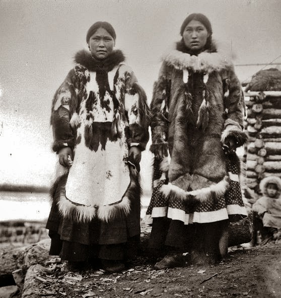 Native American Indian Pictures: Eskimo Inuit Women ...