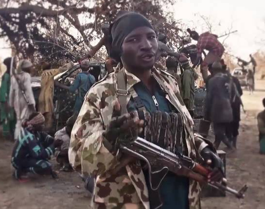 Boko Haram commander, Shuibu Moni, who was released in a swap deal for Chibok Girls resurfaces and issues fresh threat against Nigeria (Video)
