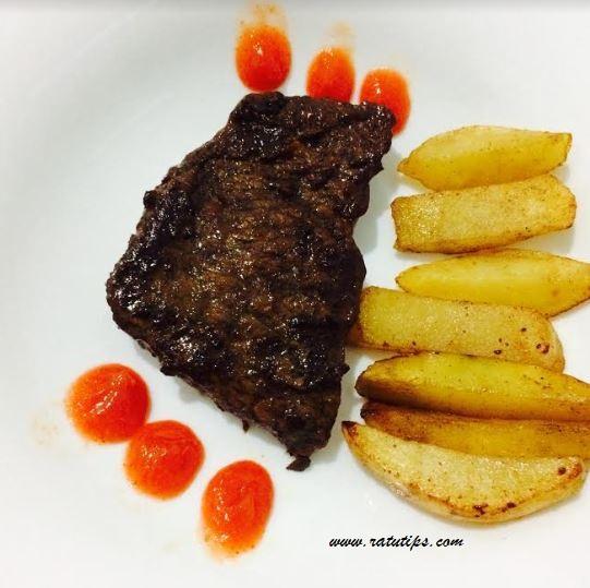 Resep Membuat Wagyu Beef Round Steak Stir Fry Barbeque, Praktis dan Mudah!