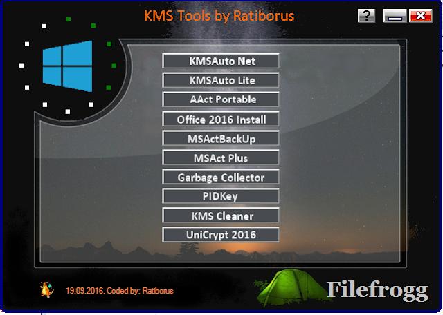 Ratiborus KMS Tools 19.09.2016 Portable