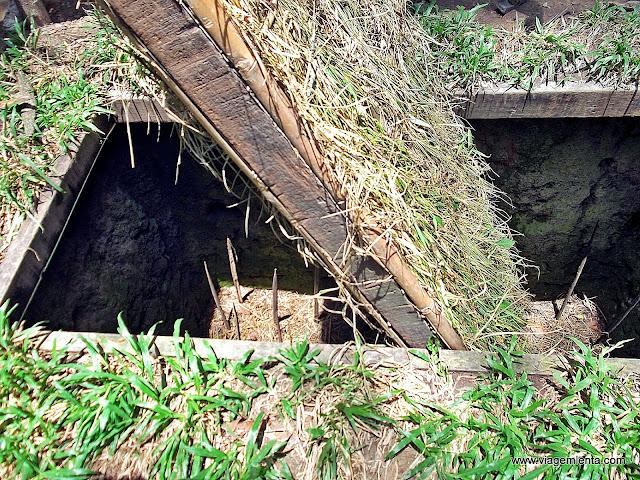 Armadilha usada pelos vietcongs