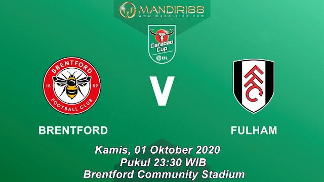 Prediksi Brentford Vs Fulham, Kamis 01 Oktober 2020 Pukul 23.30 WIB @ Mola TV