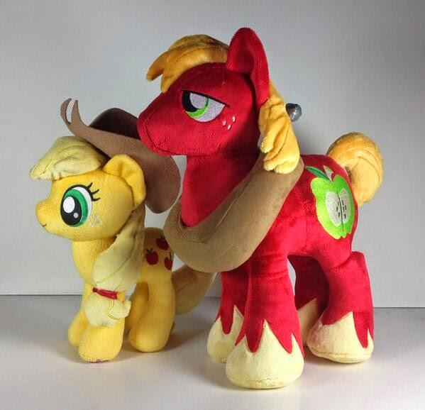 Big Macintosh My Little Pony plush ornament