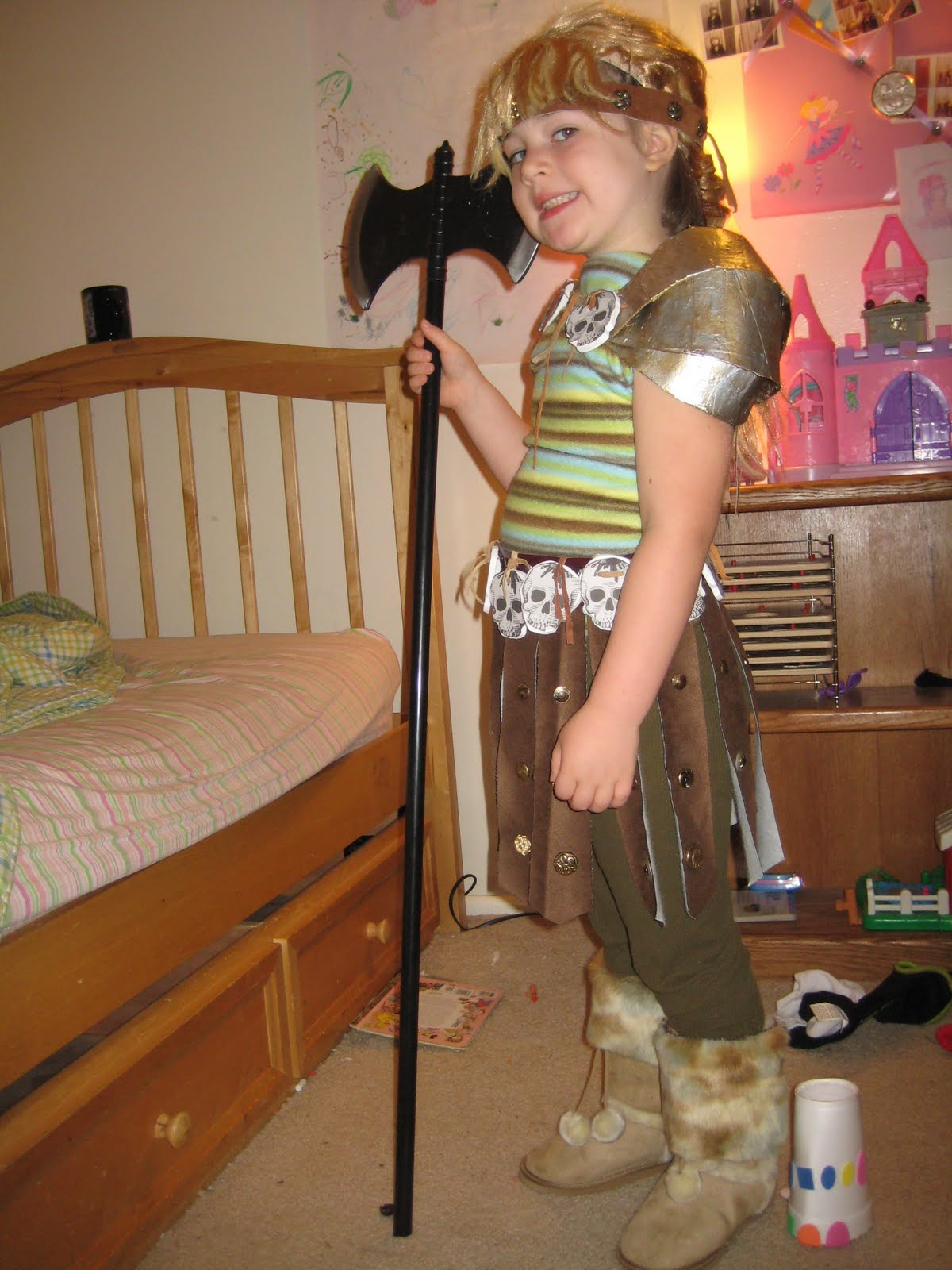 The Problem of Audience and Purpose: Astrid Viking Girl Halloween Costume