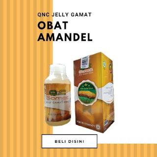 Obat Amandel QNC Jelly Gamat