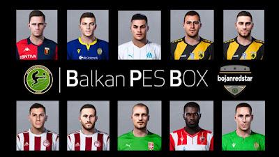 PES 2020 Facepack #3 by Bojanredstar
