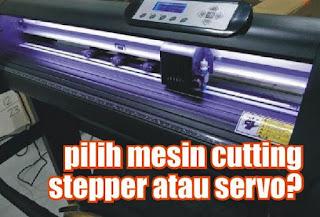 pilih mesin cutting stapper atau servo