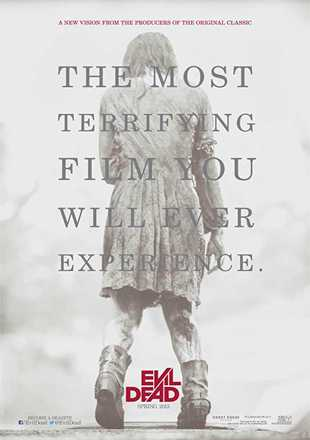 Evil Dead 2013 BRRip 720p Dual Audio In Hindi English