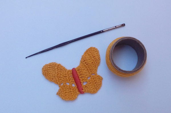 Minha primeira agulha de crochê número 3