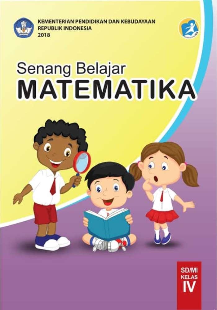 Buku Siswa SD Kelas 4 Senang Belajar Matematika