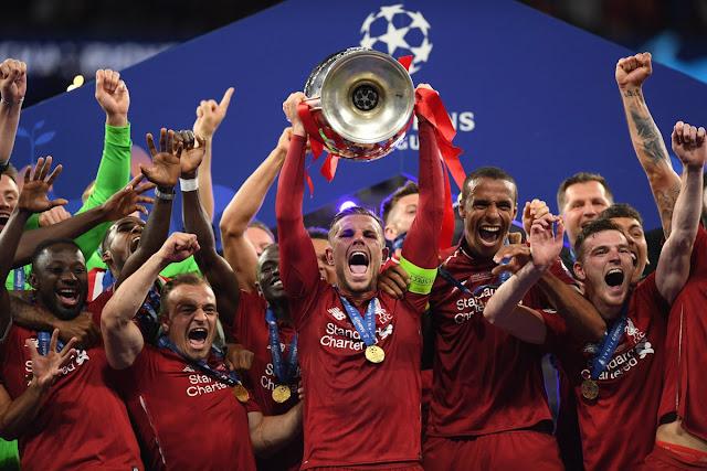 مبروك ليفربول الفوز بدوري أبطال أوروبا 2019 | ليفربول بطلاٌ لدوري أبطال أوروبا 2019