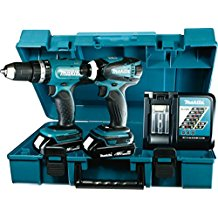 Makita -DLX2020Y Set de destornilladores eléctricos a batería 18 V