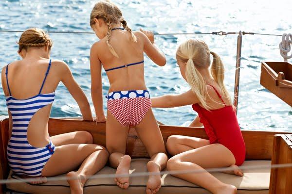 bañadores niña verano 2012 Calzedonia