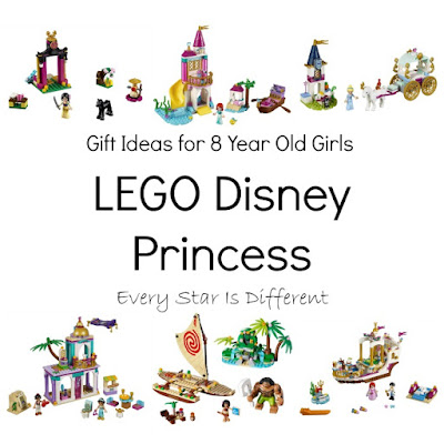 LEGO Disney Princess Gift Ideas for 8 Year Old Girls