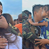Marawi soldiers shed tears as they bid farewell to loved ones