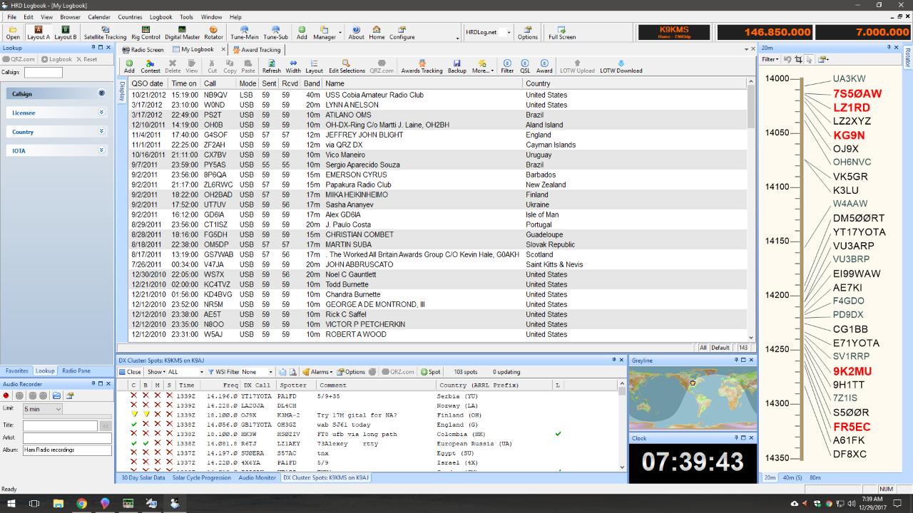 K9KMS com: Logging Software