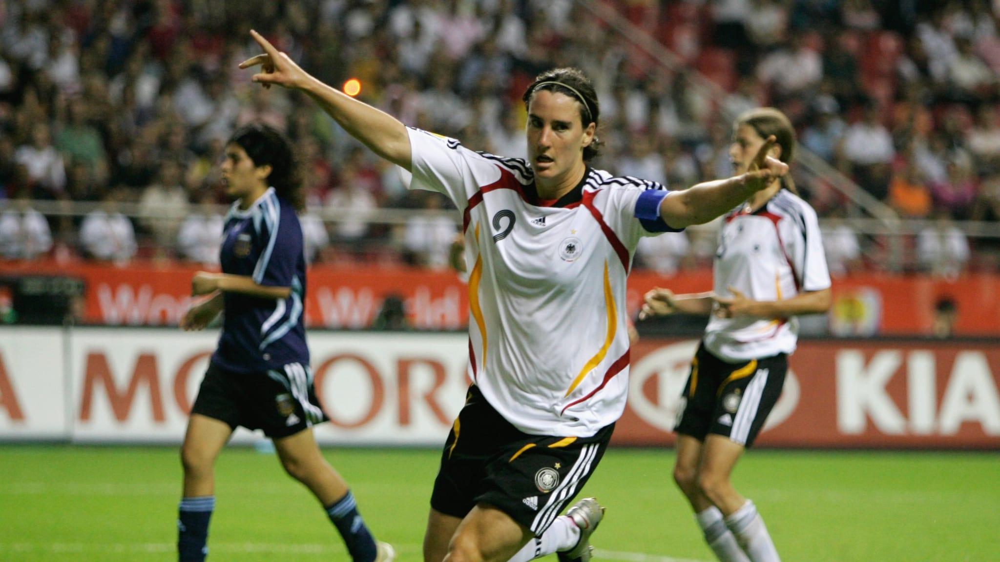 Birgit Prinz, a goleadora máxima da Seleção Alemã