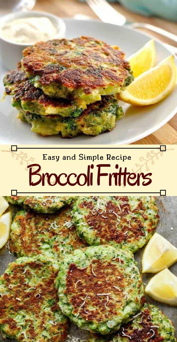 Broccoli Fritters #vegan #vegetarian #soup #breakfast #lunch