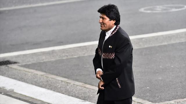 Morales: La libertad capitalista es la venta libre de armas