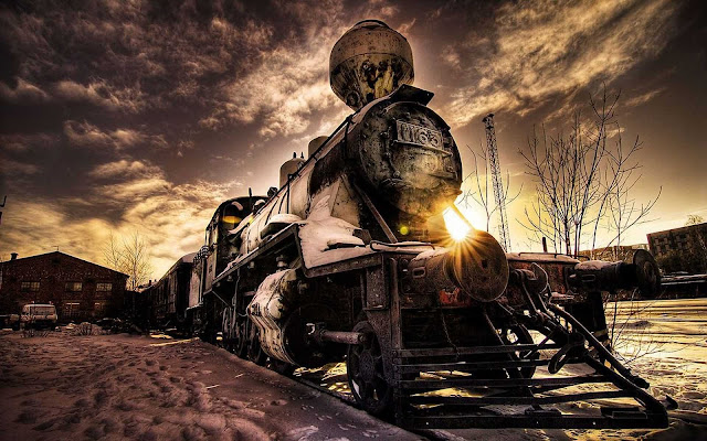desktop train wallpaper