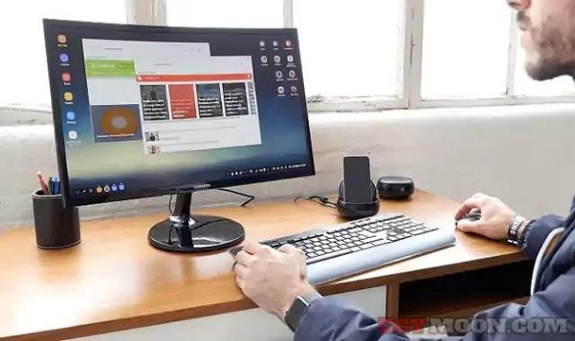 كيفية تحويل الهاتف الذكي إلى شاشة كمبيوتر Phone to PC