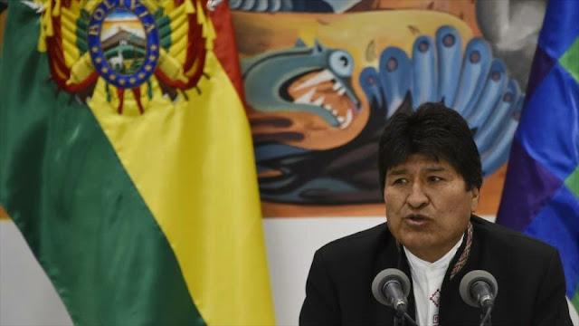 """Morales: """"La oposición boliviana busca sangre y muertos"""""""