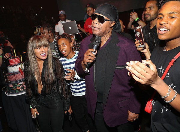 Photos: Stevie Wonder throws 'swaggy 16th birthday' party for his son, buys him a Mercedes