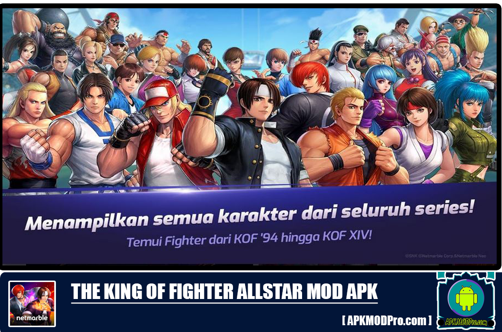 The King Of Fighter All Star v1.1.3 MOD APK [Unlimited Money/Gold/Diamond]