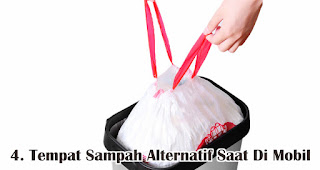 Tempat Sampah Alternatif Saat Di Mobil merupakan manfaat dan fungsi tas serut untuk sehari-hari