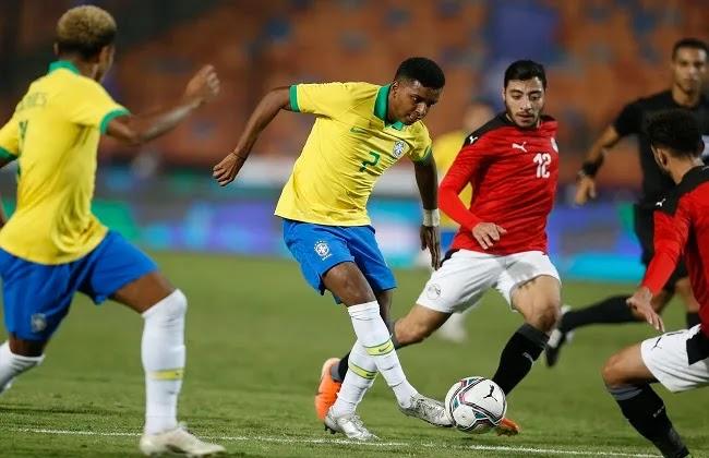 منتخب مصر الأولمبي يودع دورة الألعاب الأولمبية طوكيو 2020.... تعرف على تقييم لاعبي المنتخب أمام البرازيل