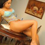 Andrea Rincon, Selena Spice Galeria 34 : Blue Jean Y Blusa Con Flores Foto 70