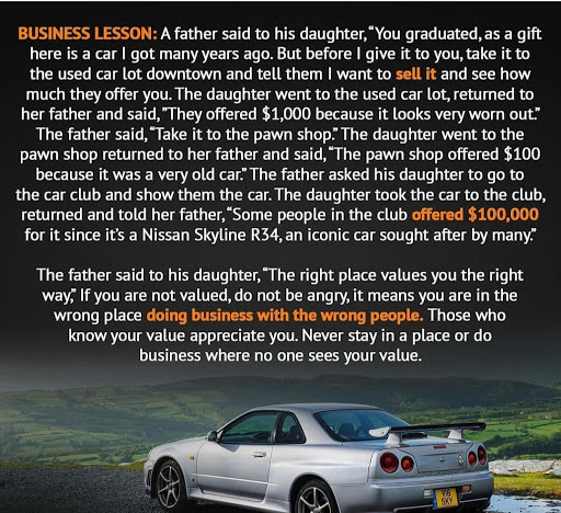 Doing business with Wrong People - Business Story
