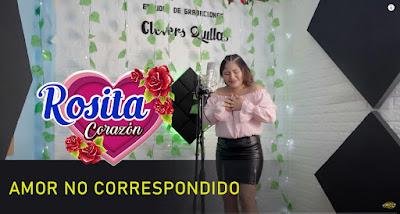 Rosita corazon estrena video clip de su tema, 'Amor no correspondido'