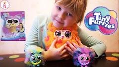 Интерактивная игрушка Tiny Furries S2 Mama Furry: мама Памкин для пушистиков