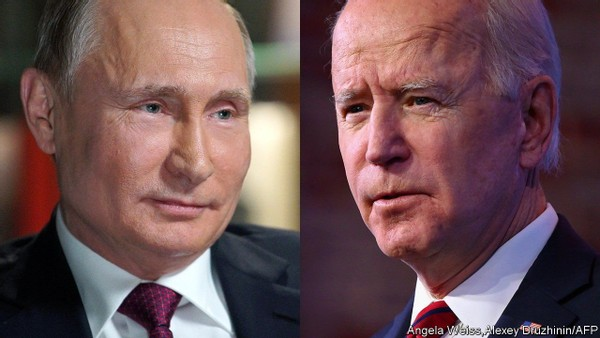 At a meeting with Vladimir Putin, Joe Biden's foreign policy was tested