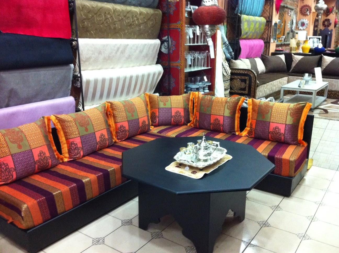 boutique salon marocain 2018 2019 salons marocains. Black Bedroom Furniture Sets. Home Design Ideas