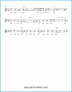 chord someday sweetheart 2 lagu jazz standar