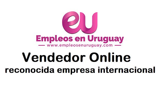 Vendedor Online - para reconocida empresa internacional