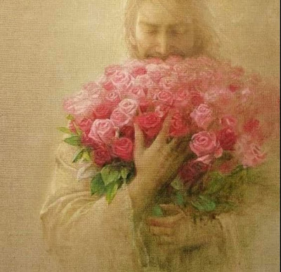 A Bouquet of Flowers by Tammy Lang Jensen