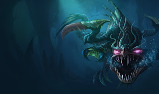 Loch Ness Cho'gath Wallpaper