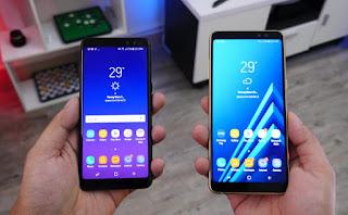 Spesifikasi dan Harga HP Samsung A6 dan A6 Plus Tahun Ini