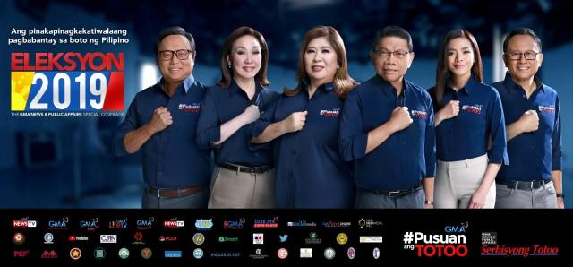 GMA News and Public Affairs team to deliver comprehensive coverage of Elekyon 2019.