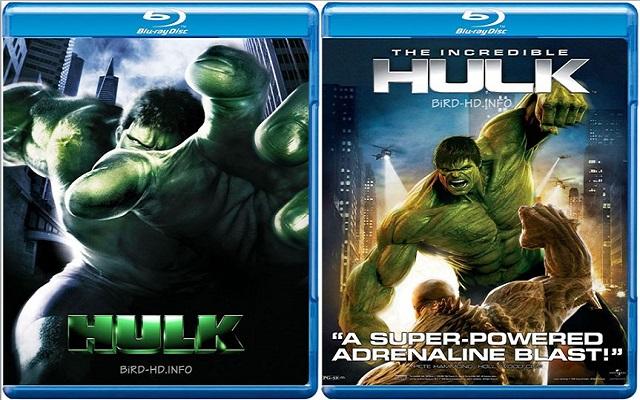 The Hulk Duology (2003-2008) Bluray Dual Audio 480p 720p 1080p Full Movie Free Download